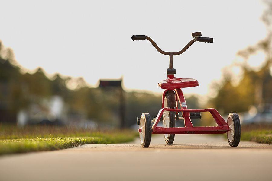Bild-på-trehjuling